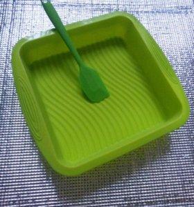 Набор - силиконовая форма и лопатка