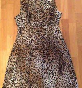 Новое платье-брендовый шёлк от Roberto Cavalli