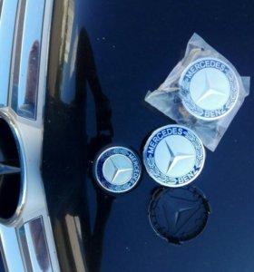 Крышка заглушка эмблема колеса диска Mercedes Мерс
