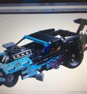 Лего technic 42050 гоночный драгстер