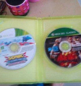 2 диска для XBOX 360