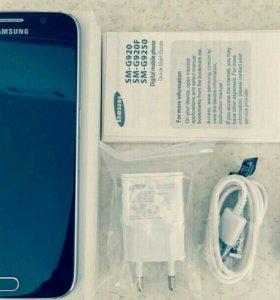 Samsung Galaxy S6 Black Sapphire 32gb LTE новый