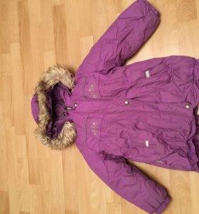 Куртка kerry зимняя 110 + в подарок полукомбинезон