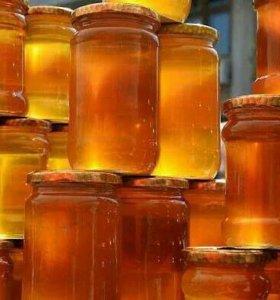 Мед ростовский разноцвет и акация
