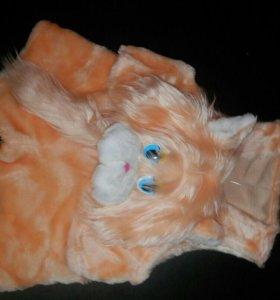 Костюм карнавальный - котёнок (мех) на 3-4 года