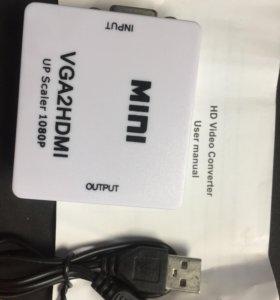Конвектор видео vga-hdmi