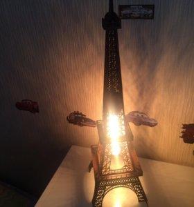 Светильник ночник из дерева