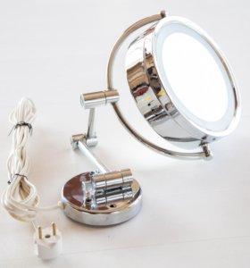 Зеркало двойное с подсветкой