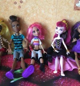 Куклы Mattel Monster High