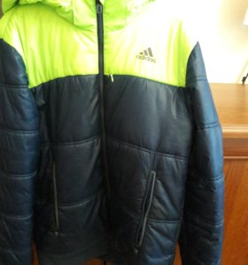 Пуховик Adidas xs