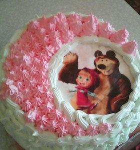 Тортики.