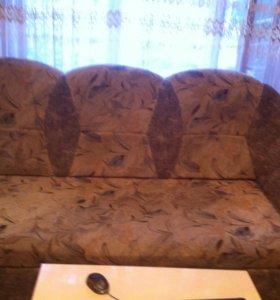 Мягкий уголок (диван, раскладывается, кресло -кровать)