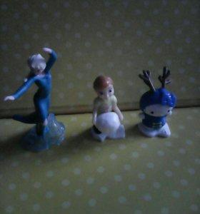 Игрушки из киндер сюрпризов