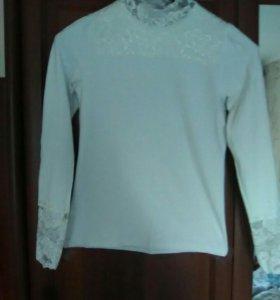 Водолазка-блуза