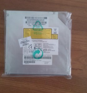 HP AD-7561S DVD-RW SATA LightScribe привод д/ноутб
