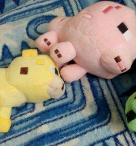 Набор игрушек из Майнкрафта