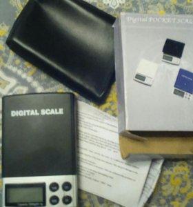 Весы электронные карманные