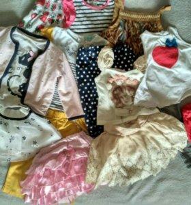 Пакет одежды для девочки 2-3 года