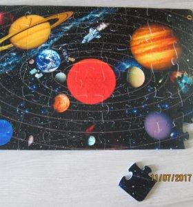 Коврик пазл Вселенная