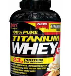 SAN Pure Titanium Whey Chocolate Rocky Road 5 lb