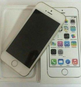Iphone 5s белый 16гб(состояние идеал)