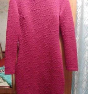 Платье бордовое 450р 44-46рр