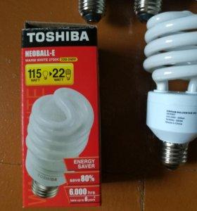 Лампы энергосберегающие (люминесцентные, витые) -