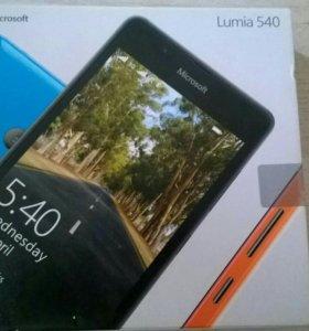 Смартфон microsoft lumia 540, черный.