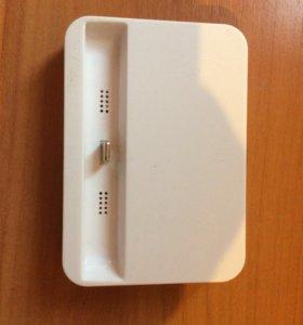 Зарядка,подставка для iPhone 5,6,7.