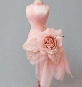 Подгонка и пошив свадебного платья