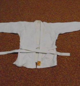 кимоно для занятия дзюдо.