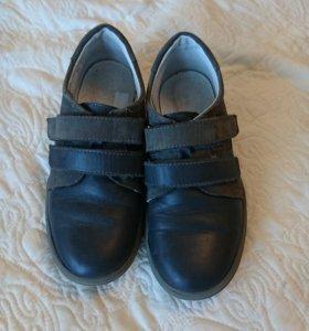 Туфли кожаные б/у