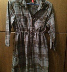 Платье-  туника h&m