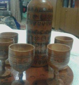 Раритет. Советский набор деревянный.