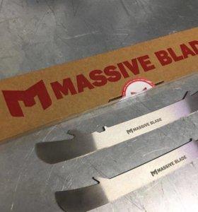 Лезвия MassiveBlade для коньков Bauer