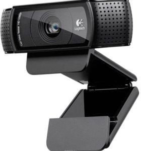 Logitech C920, Black веб-камера