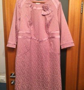Платье новое 58 размера