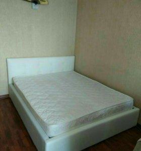 Кровать новая из эко кожи с матрасом