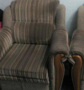 Диван, кресло- кровать