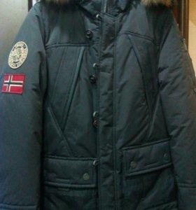 Скидка 50%.Куртка. Пуховик Fergo Norge.