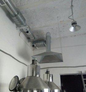 Монтаж систем вентиляции и кондеционированиия