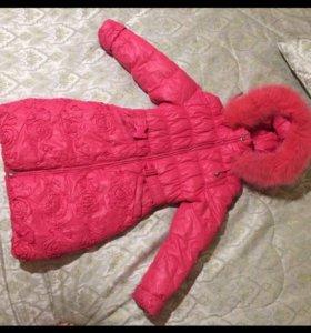 Куртка зимняя , оч теплая