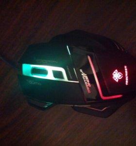 Игровая компьютерная мышь с подсветкой!