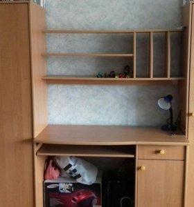 Детская стенка + шкаф