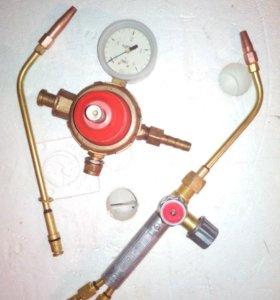 Газовая горелка Г2-05 и ацетиленовый редуктор