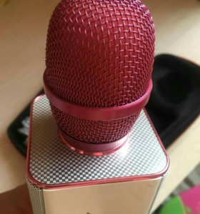 Микрофон розовый