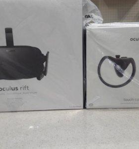 Okulus rift+ okulus touch ( VR комплект )