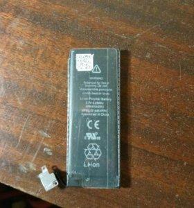 Аккумулятор акб iPhone 4s