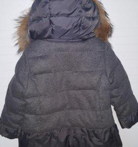 Куртка зимняя детская 92-98, 3-4 года