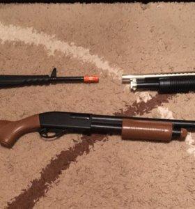Детские игрушки пулемёты